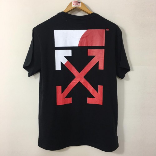 Off-White Split Logo Tee Black [HOP Batch]